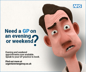 Need to see a GP out of hours?